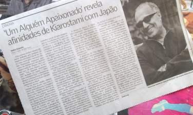 Entrevista Abbas Kiarostami - Mostra de São Paulo. Valor Econômico, out/12. Íntegra em https://ursodelata.com/2012/10/31/mostrasp-uma-conversa-com-kiarostami/