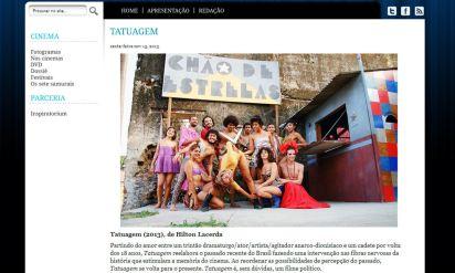 Crítica de Tatuagem. Revista Interlúdio. Íntegra em http://www.revistainterludio.com.br/?p=6357