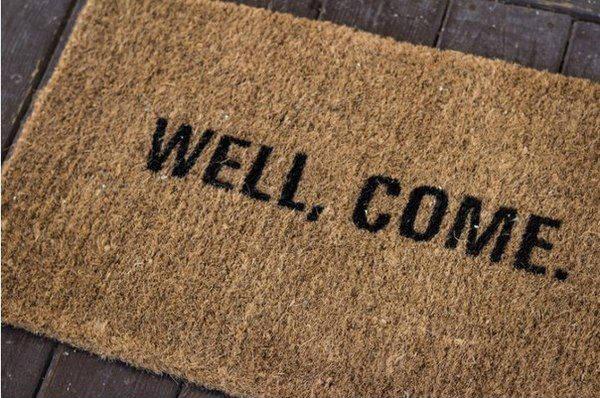 bem-vindo welcome carpet