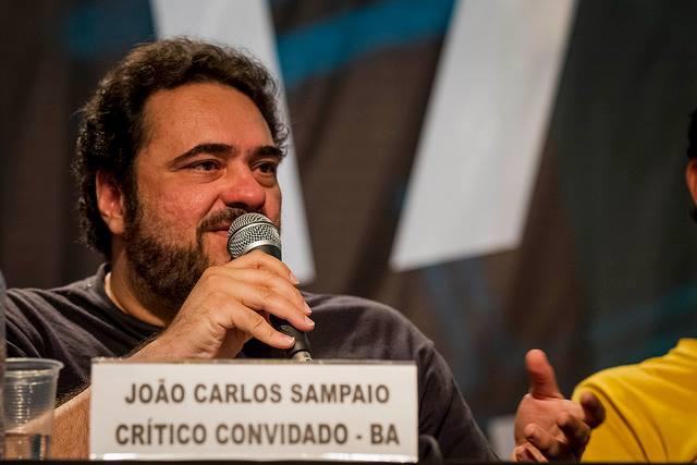João Carlos Sampaio durante debate da Mostra de Tiradentes 2014